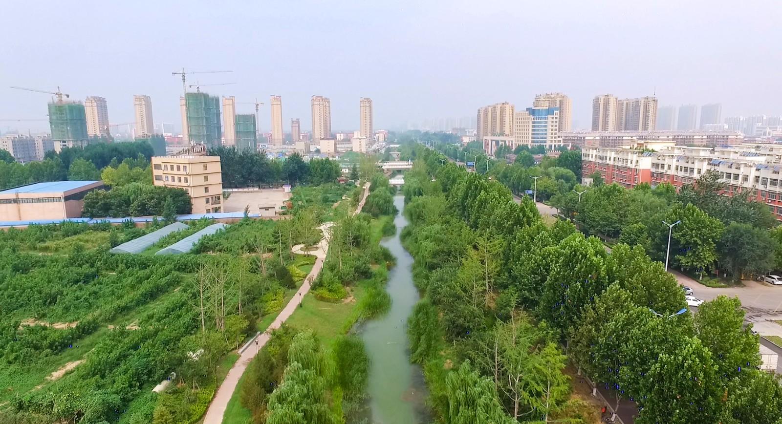 齐河大蒋沟生态治理景观工程