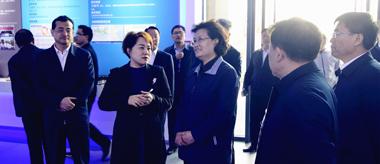 山东省政协副主席吴翠云一行莅临国际院士谷实地调研
