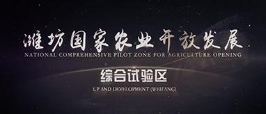 潍坊国家农业开放发展综合试验区宣传片震撼发布!