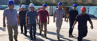 热烈欢迎新西兰合作伙伴莅临龙港·育秀园项目参观交流