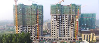 簡訊 | 喜賀龍港·育秀園B區7#、8#樓完成主體結構封頂